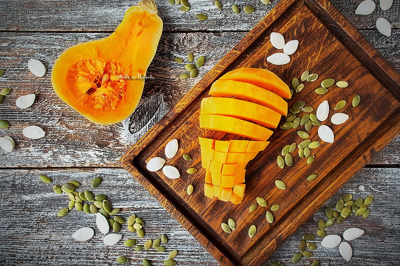 ...Butternut squash and pumpkin seeds