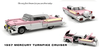 1957 Mercury Turnpike Cruiser Hardtop Coupe