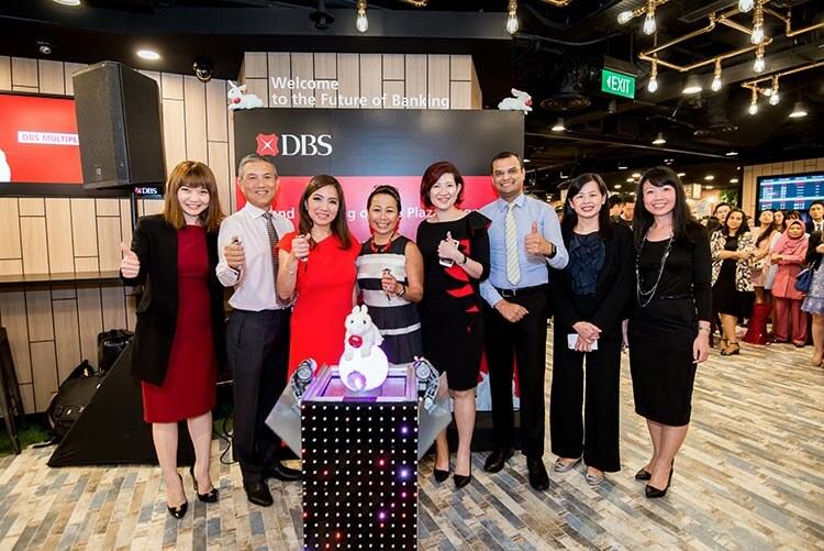 DBS Plaza Singapura Branch