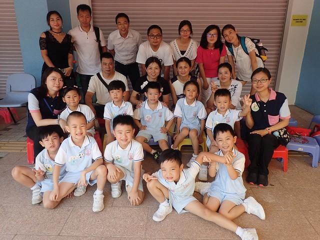 K3參加陳式宏小學運動會