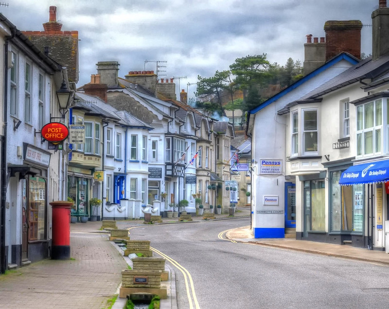 The village of Beer, Devon. Credit Baz Richardson, flickr