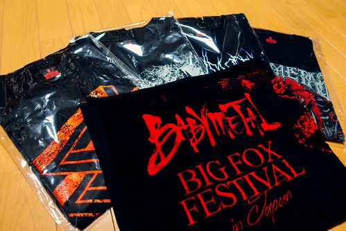 BABYMETAL BIG FOX FESTIVAL 2017 SSA GOODS
