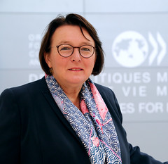 Martine Schommer, Ambassador of Luxembourg to the OECD
