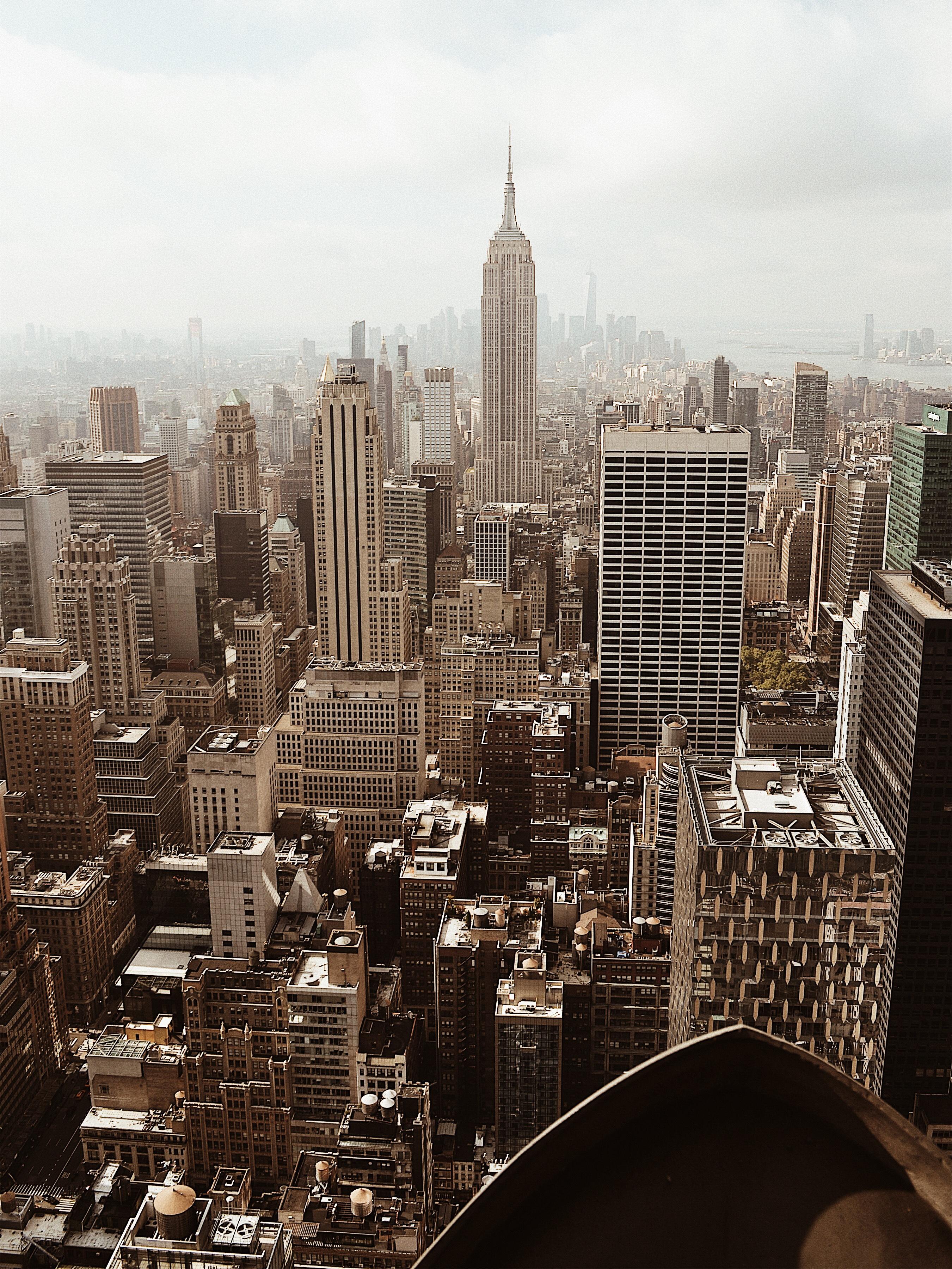 vista de nueva york desde top of the rock
