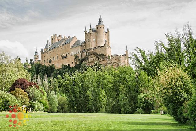 castelos da Espanha: Alcázar de Segovia