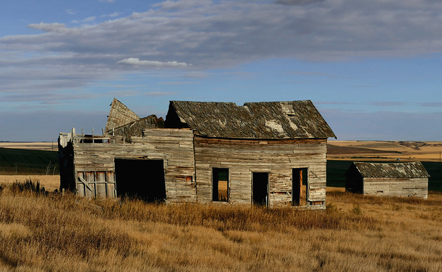Old and forgotten. Alberta.