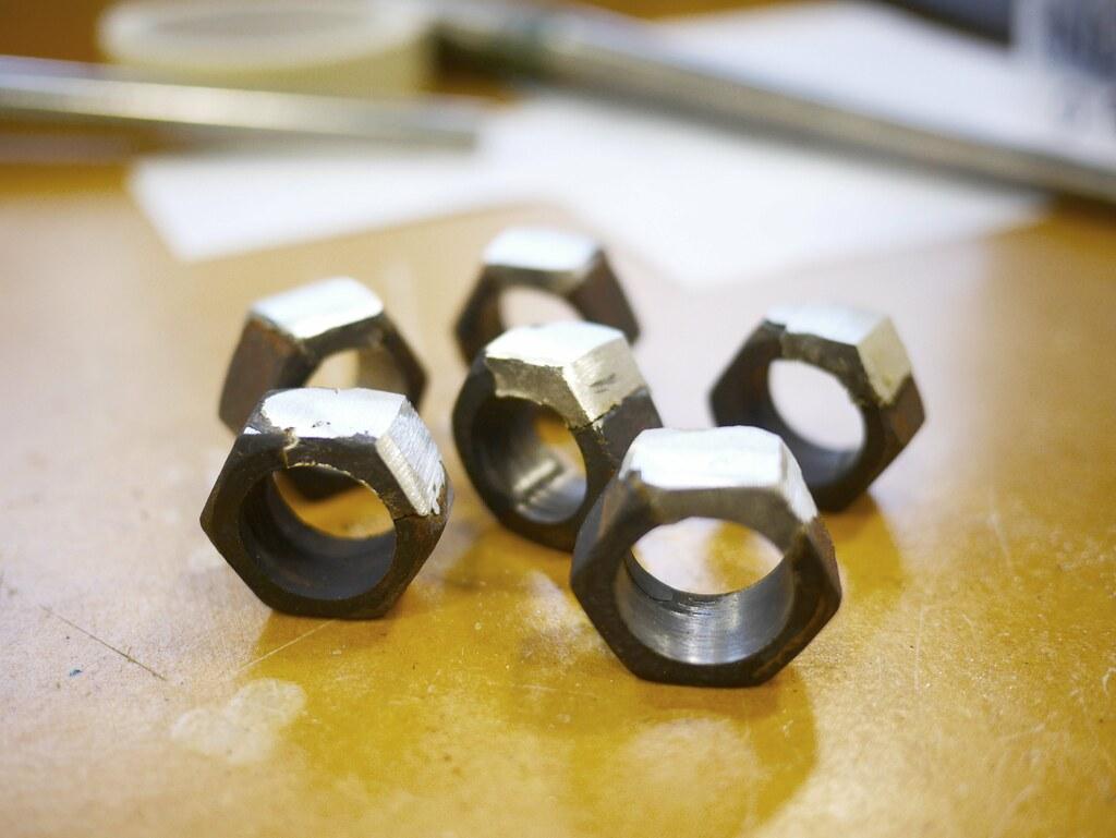 Nut Rings - Repairs Series - WIP - 4