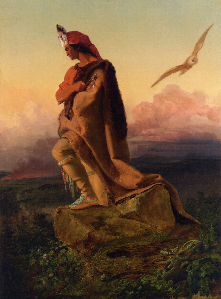 The Last of the Mohicans by Emanuel Gottlieb Leutze, 1850