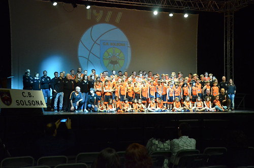 40 anys del CB Solsona i presentació equips 2017-2018