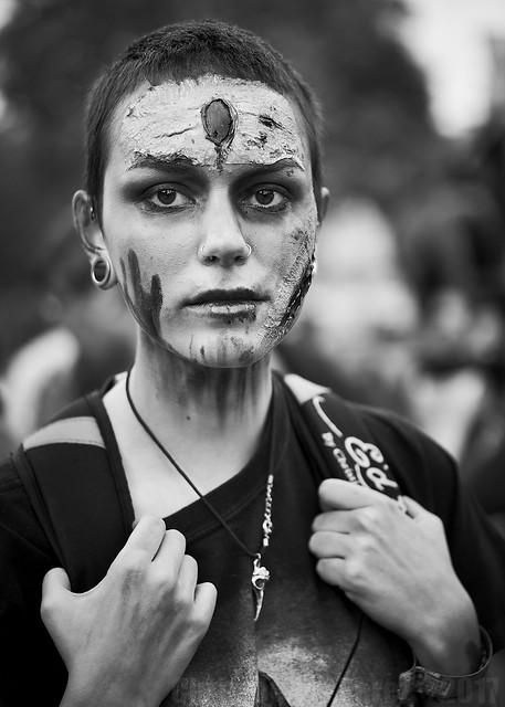 Zombie Walk (in B&W) ~ Paris 2017