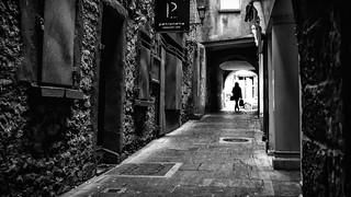 Shopping - Kilkenny, Ireland - Black and white street photography