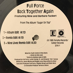 FULL FORCE:BACK TOGETHER AGAIN(LABEL SIDE-A)
