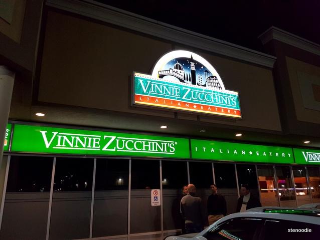 Vinnie Zucchini's Italian Buffet storefront