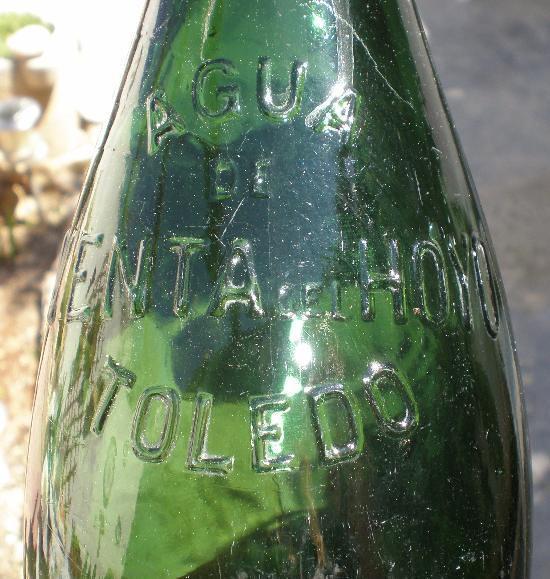 Botella de la Venta del Hoyo