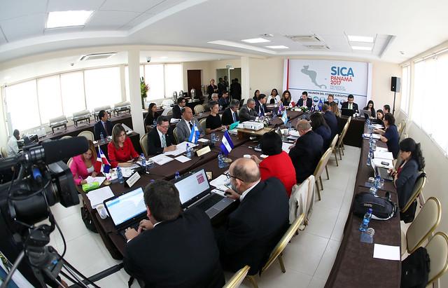 LV Reunión del Comité Ejecutivo del SICA en Panamá
