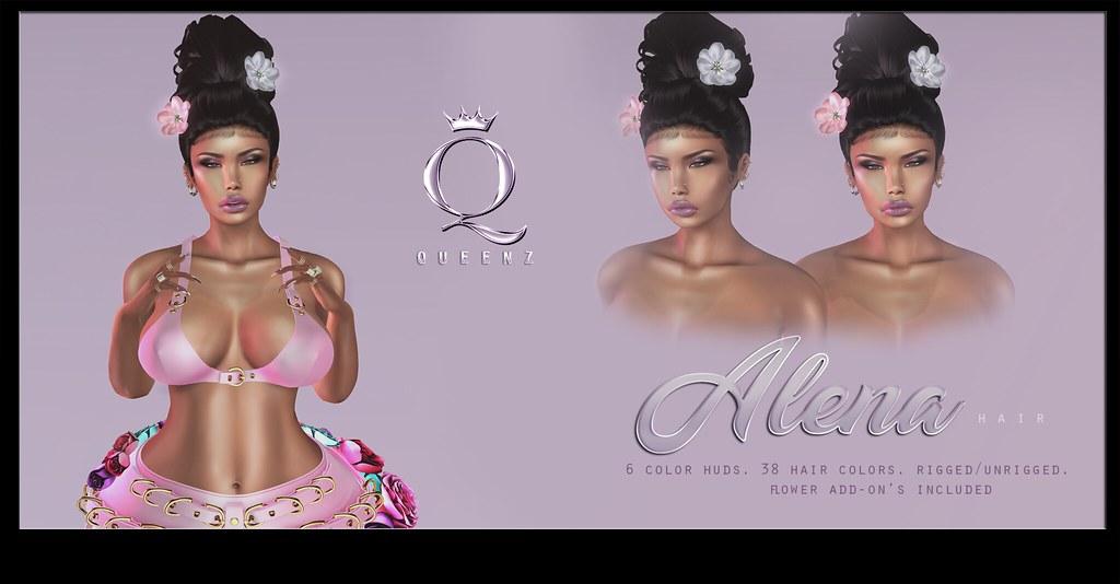 QUEENZ | Alena Hair - TeleportHub.com Live!