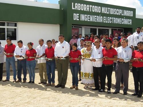 Inauguración Laboratorio de Ingeniería Electromecánica