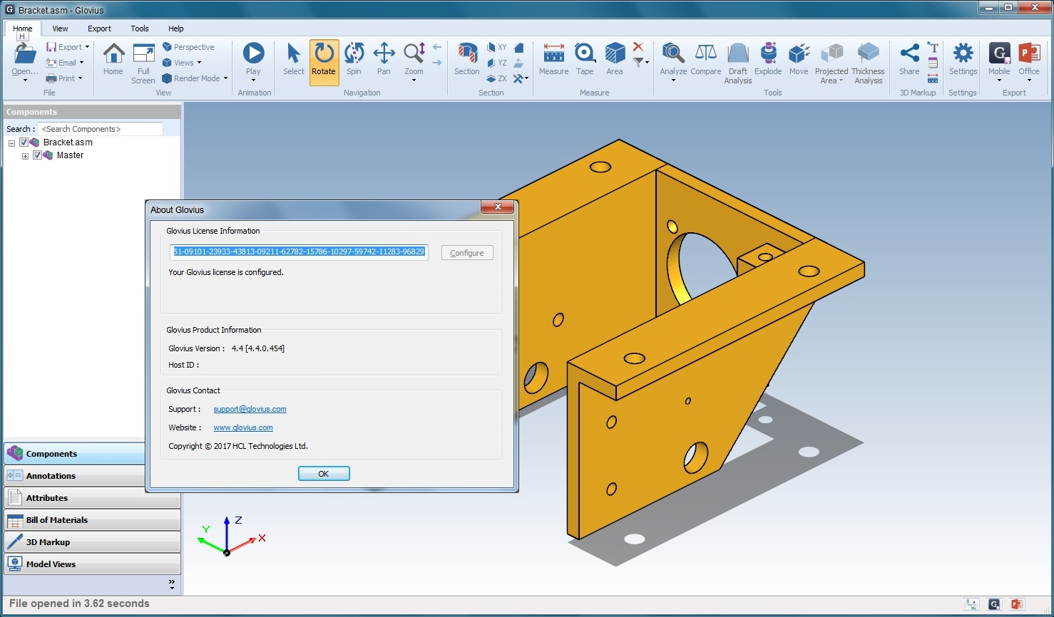 Working with Geometric Glovius Pro v4.4.0.454 full license