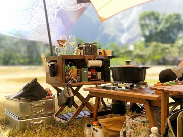20171007 不露 會blue 遠的要命的王國到著 #歐北露 #campinglife #black_design #合舍二一 #eleos #超愛天時農莊