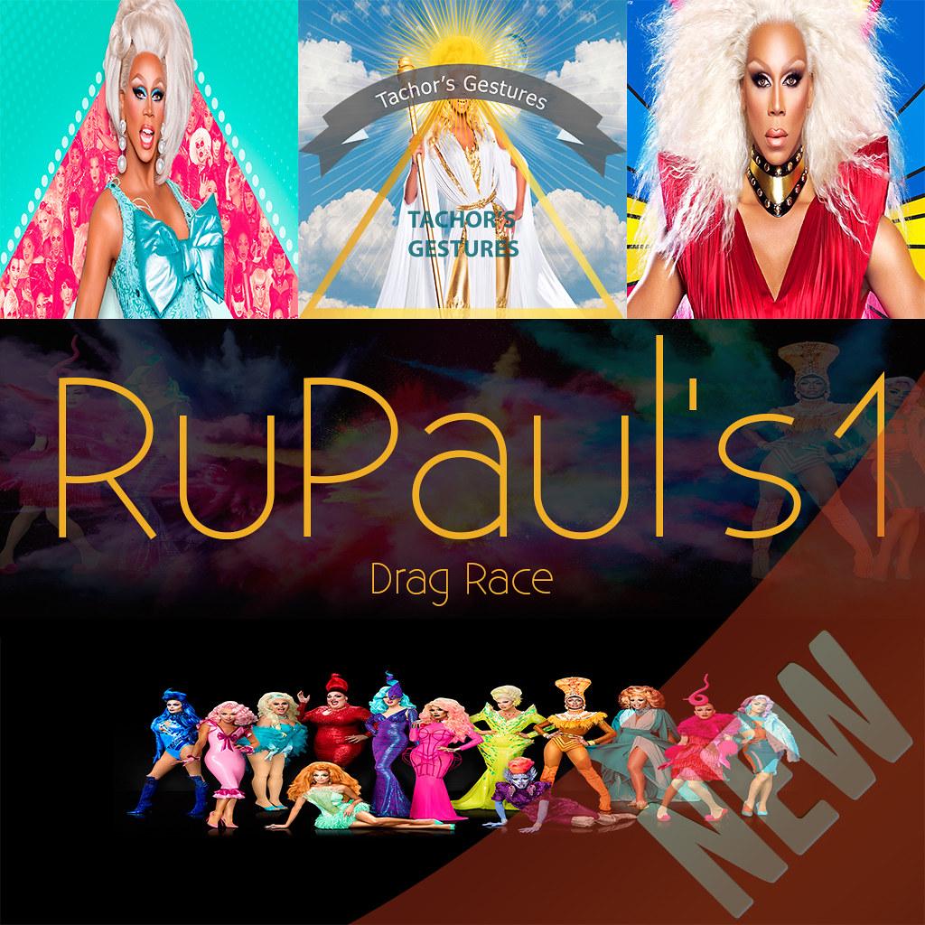 #74 .: NEW !!! RuPauls Drag Race PACK 1:. - TeleportHub.com Live!