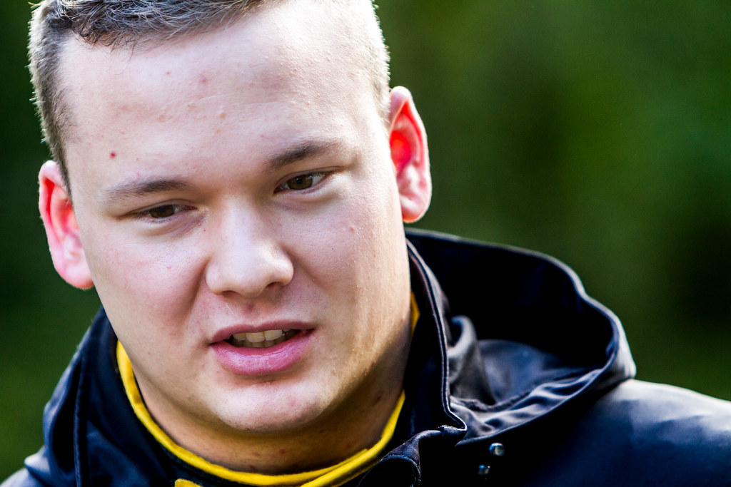 Huttunen Jari, ADAC Opel Rallye Junior Team, Opel Adam R2 ERC Junior U27 ambiance portrait during the 2017 European Rally Championship ERC Liepaja rally,  from october 6 to 8, at Liepaja, Lettonie - Photo Thomas Fenetre / DPPI
