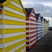 Hastings pier huts