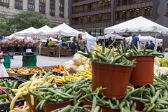 All manner of fruits and vegetables at City Market in Chicago