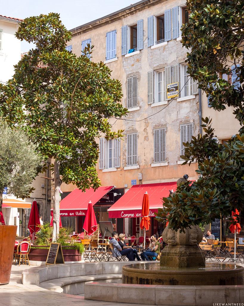 Place Sadi Carnot, La Ciotat