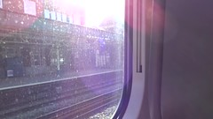 Departing Newport Onboard GWR 800 IET on first day of service 2017/10/16