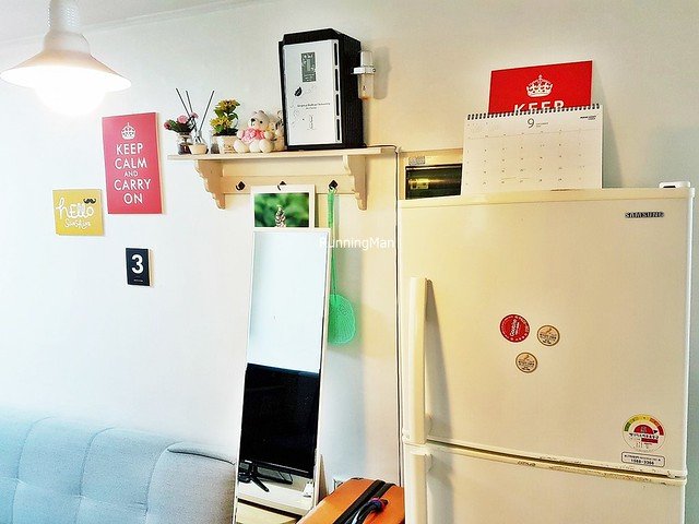 Ewha Hostel 09 - Refrigerator & Wall Decor