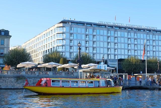 Geneve boat trip