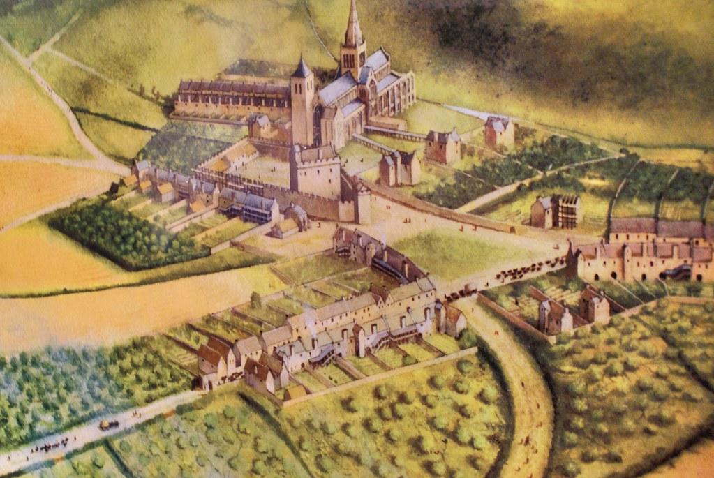 Glasgow s'est développé autour de sa cathédrale à partir du 12e siècle.