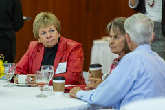 2017 - October - CHS - Foundation Governors Breakfast with the Dean