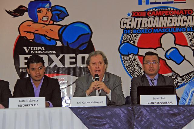 Conferencia Centroamericano y Copa Internacional Boxeo