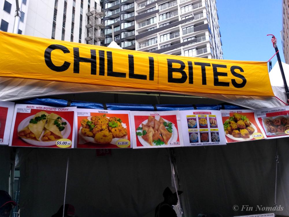 Chilli bites Auckland