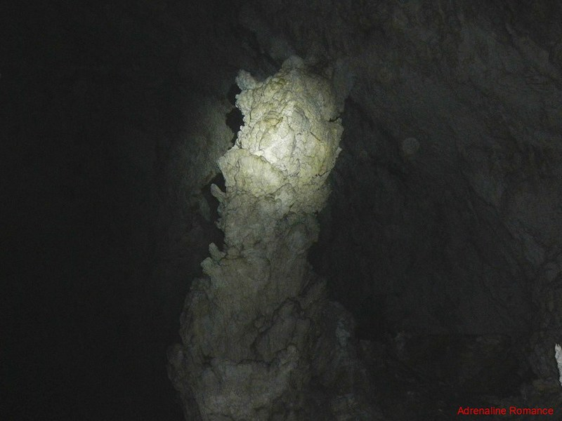 Giant stalagmite