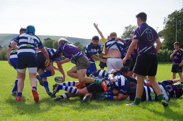Lewes Men's Second XV vs Heathfield & Waldron - 23 September 2017