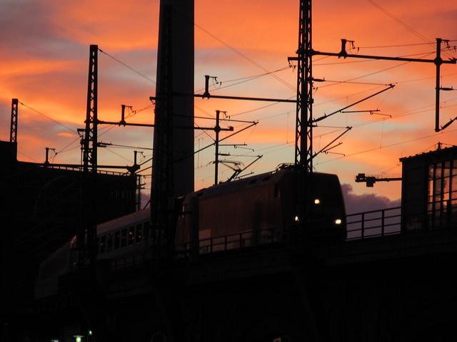 InterCity auf der Stadtbahn