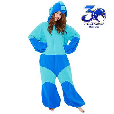 買給女友的睡衣!《洛克人》「洛克人造型睡衣」30週年紀念商品!ロックマン着ぐるみ
