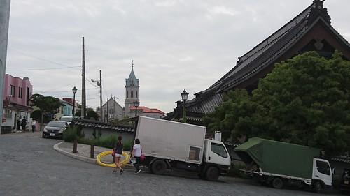 函館の街は異文化が共存している……って感じの写真