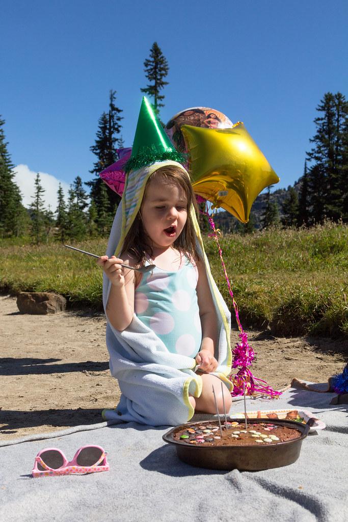 Nora turns three!