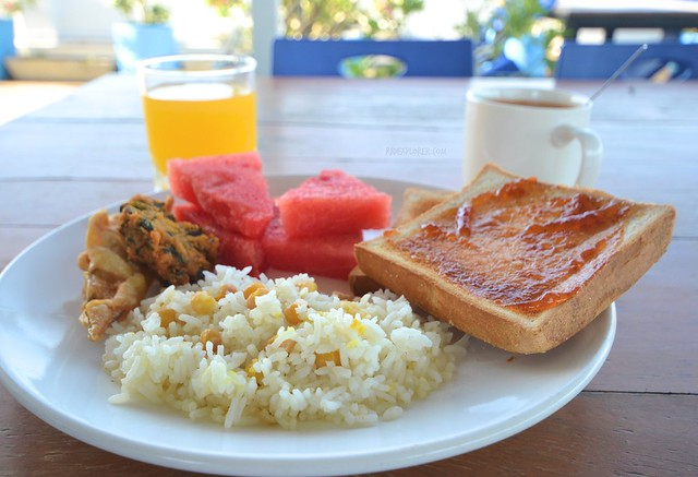 four rivers b&b mandalay breakfast