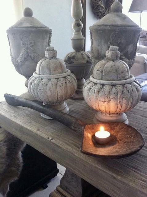 Kloostertafel potten schep