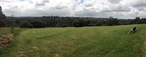 View across Westerfolds Park
