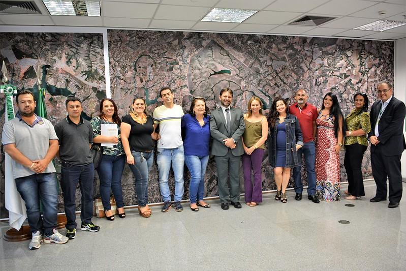 Reunião com Diretores de Brazlândia e Sra. Socorro Miranda