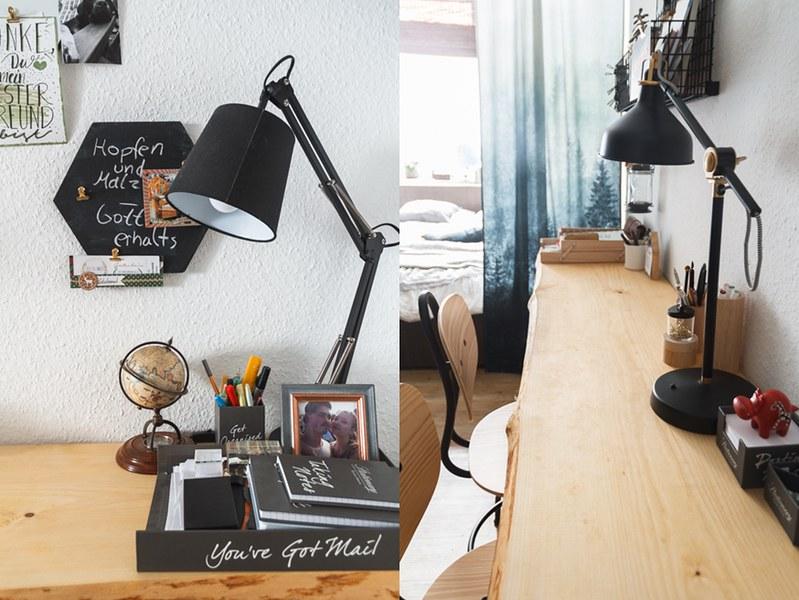 Holzbohle-Schreibtisch-selbst-bauen-Home-Office-gestalten