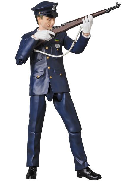 「新增官圖&販售資訊!」可以擁有小丑沒上妝的頭雕!!MAFEX 黑暗騎士【小丑 警察版】The Dark Knight The Joker Cop Ver.