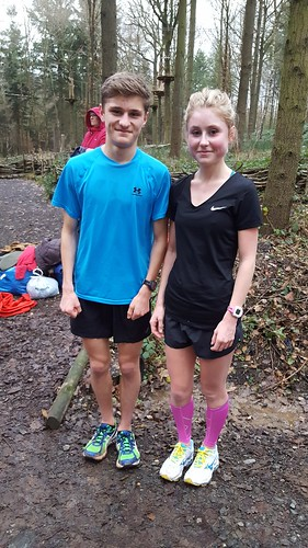 William and Chloe Richardson Wyre Forest parkrun