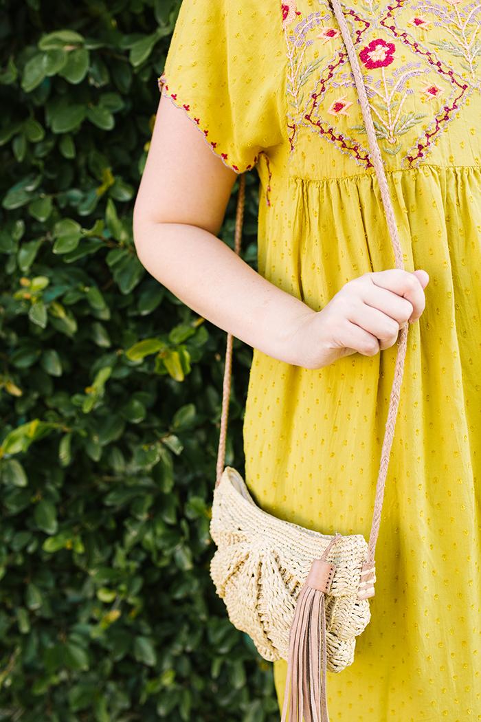 austin fashion blogger writes like a girl yellow zara dress16