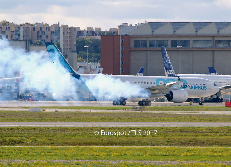 F-WTTN Airbus A330 Néo first run engines